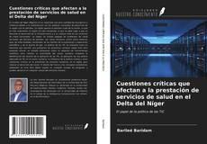 Portada del libro de Cuestiones críticas que afectan a la prestación de servicios de salud en el Delta del Níger