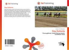 Bookcover of Gay Gallanta