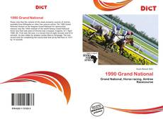 Bookcover of 1990 Grand National