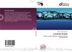 Couverture de Lorentz Scalar