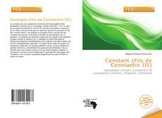 Bookcover of Constant (Fils de Constantin III)