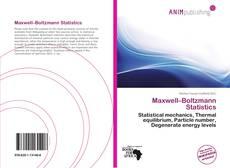 Portada del libro de Maxwell–Boltzmann Statistics