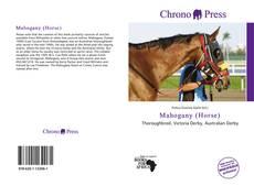 Mahogany (Horse) kitap kapağı