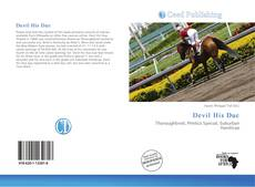 Bookcover of Devil His Due