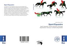 Bookcover of Sport Équestre