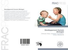 Développement Humain (Biologie)的封面
