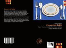 Copertina di Couvert de Table