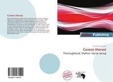 Caveat (Horse) kitap kapağı