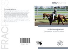 Portada del libro de First Landing (Horse)