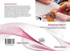 Bookcover of Simplicity Pattern