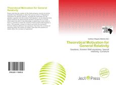 Bookcover of Theoretical Motivation for General Relativity