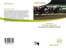 Gander (Horse) kitap kapağı