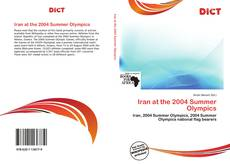 Bookcover of Iran at the 2004 Summer Olympics