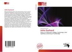 Обложка John Eachard