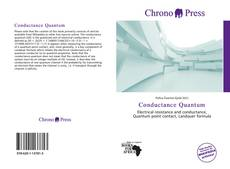 Bookcover of Conductance Quantum