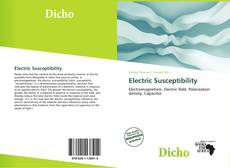 Bookcover of Electric Susceptibility