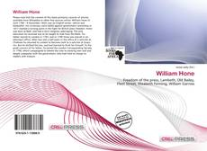 Capa do livro de William Hone