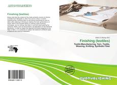 Bookcover of Finishing (textiles)