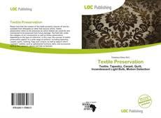 Couverture de Textile Preservation