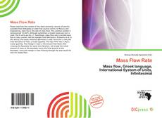 Bookcover of Mass Flow Rate