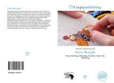 Bookcover of Yarn Weight