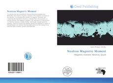 Bookcover of Neutron Magnetic Moment