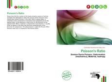 Couverture de Poisson's Ratio