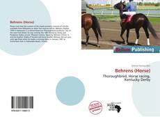 Buchcover von Behrens (Horse)