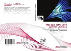 Buchcover von Mongolia at the 2004 Summer Olympics