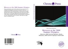 Buchcover von Morocco at the 2004 Summer Olympics
