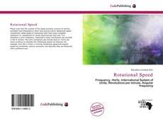 Buchcover von Rotational Speed