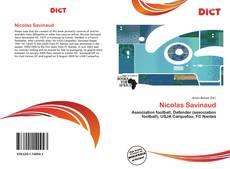 Bookcover of Nicolas Savinaud