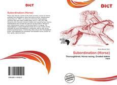 Bookcover of Subordination (Horse)