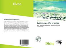 Bookcover of System-specific Impulse