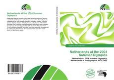 Buchcover von Netherlands at the 2004 Summer Olympics