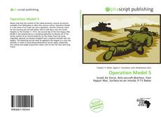 Operation Model 5 kitap kapağı