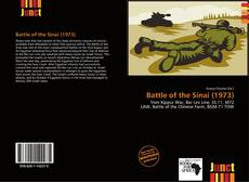 Bookcover of Battle of the Sinai (1973)