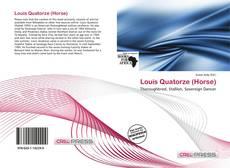 Portada del libro de Louis Quatorze (Horse)