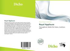 Bookcover of Royal Applause