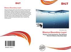Bookcover of Blasius Boundary Layer