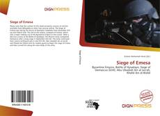 Bookcover of Siege of Emesa