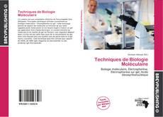 Обложка Techniques de Biologie Moléculaire