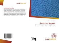 Bookcover of Brinkman Number