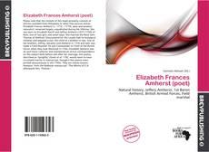 Обложка Elizabeth Frances Amherst (poet)