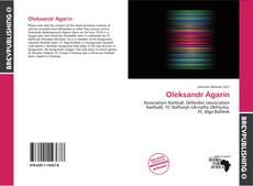 Oleksandr Agarin kitap kapağı
