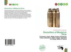 Demolition of Masjid al-Dirar kitap kapağı