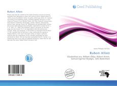 Bookcover of Robert Allott