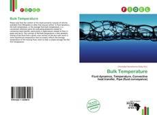 Portada del libro de Bulk Temperature