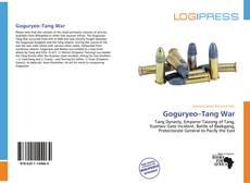 Portada del libro de Goguryeo–Tang War