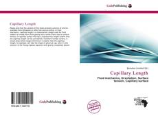 Bookcover of Capillary Length